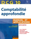 DCG 10 - COMPTABILITE APPROFONDIE 2015/2016 Manuel et applications